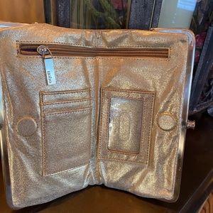 Stunning Gold Hobo Lauren wallet